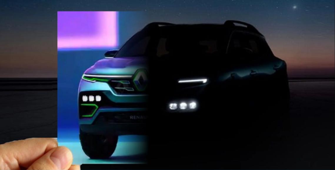 Renault Kiger कॉम्पैक्ट SUV को आधिकारिक तौर पर लॉन्च से पहले Teased