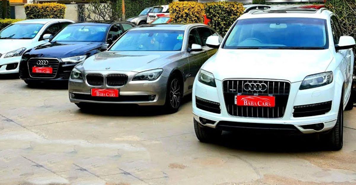 अच्छी तरह से बनाए रखा Audi & BMW Used लक्जरी कारें