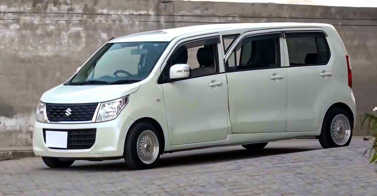 Maruti Suzuki WagonR सिर्फ 2.3 लाख रु. में एक limousine में संशोधित किया गया