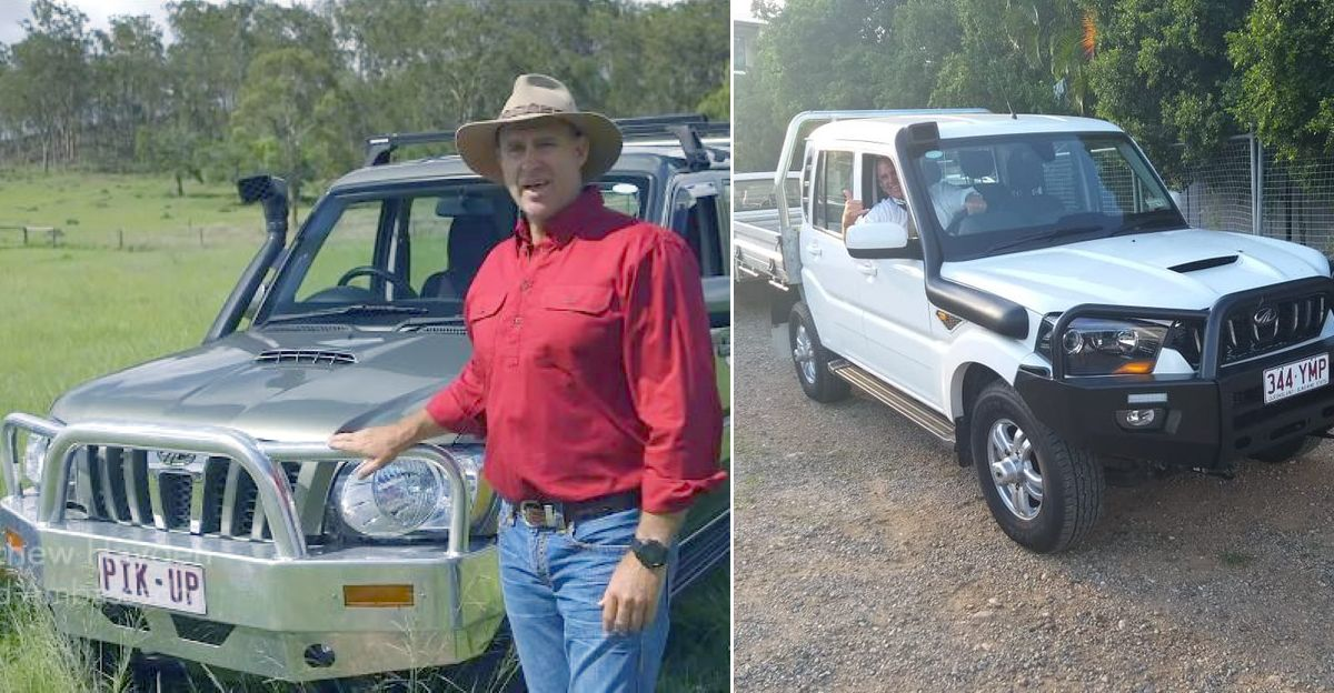 Mathew Hayden की नई सवारी Mahindra Scorpio Pikup ट्रक है