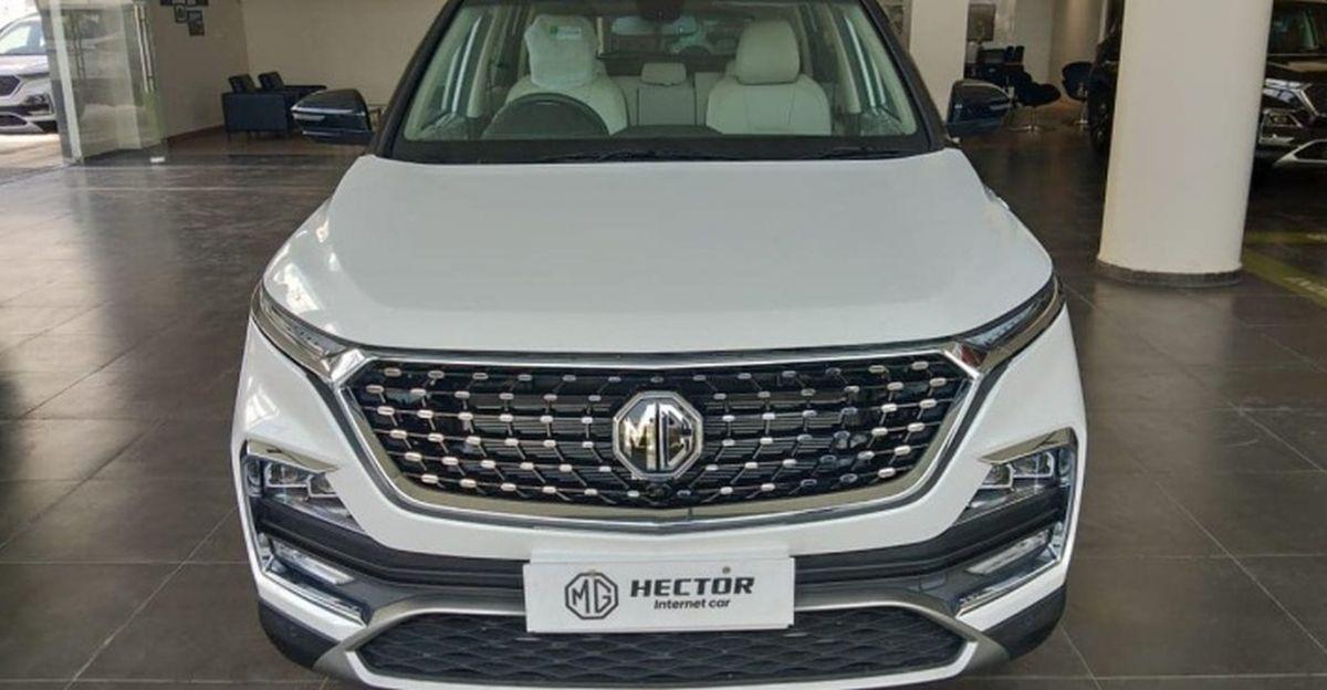 MG Motor ने भारत में 2021 Hector और Hector Plus एसयूवी लॉन्च किया