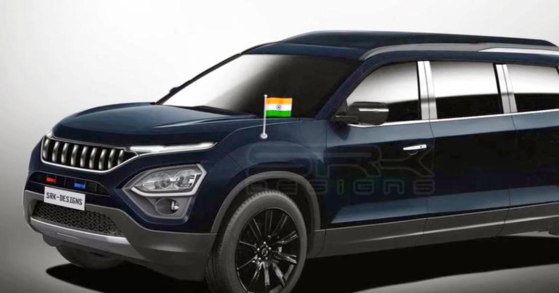 All New Tata Safari Limousine संस्करण का वीडियो रेंडर