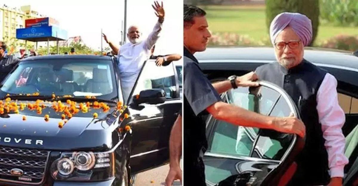 भारत के राष्ट्रपति और प्रधान मंत्री और उनकी कारें
