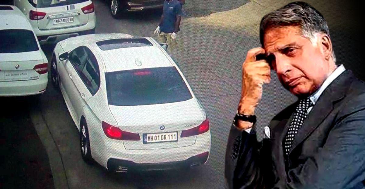 महिला BMW के मालिक ने रतन टाटा की कार का नंबर लिया, लग्जरी कार जब्त की