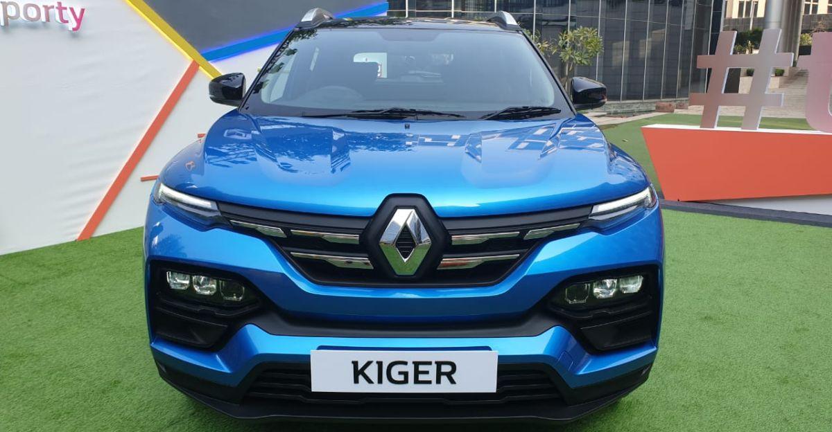 भारत में Renault Kiger sub-4 मीटर कॉम्पैक्ट SUV का आधिकारिक अनावरण किया गया