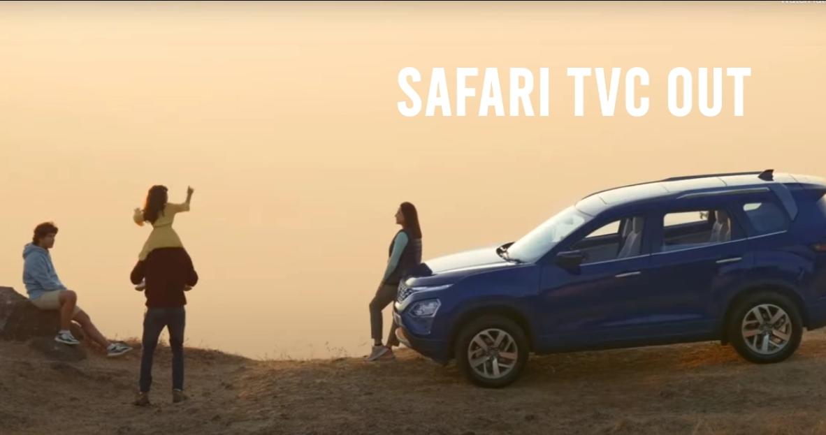 All-New Tata Safari : TVC सभी सुविधाओं को दिखाता है [वीडियो]