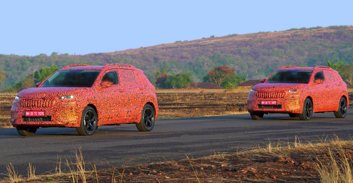 Skoda ने India-Spec Kushaq कॉम्पैक्ट एसयूवी के नए चित्र और विवरण जारी किए