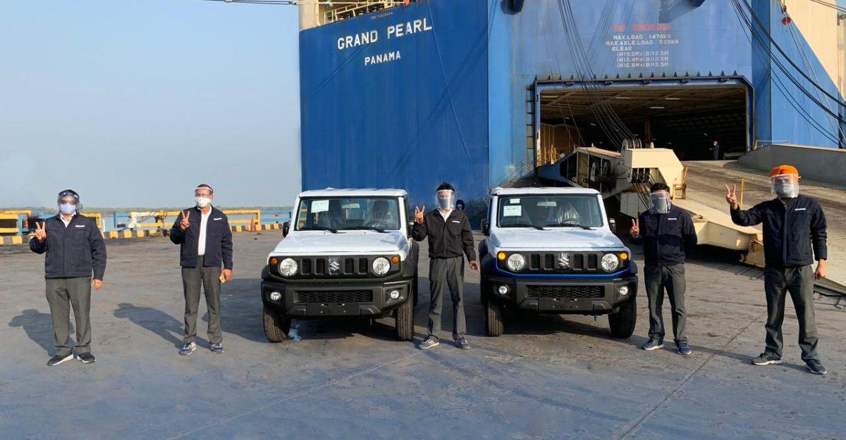 Made-in-India Suzuki Jimny का निर्यात शुरू, इस साल के अंत में भारत-लॉन्च