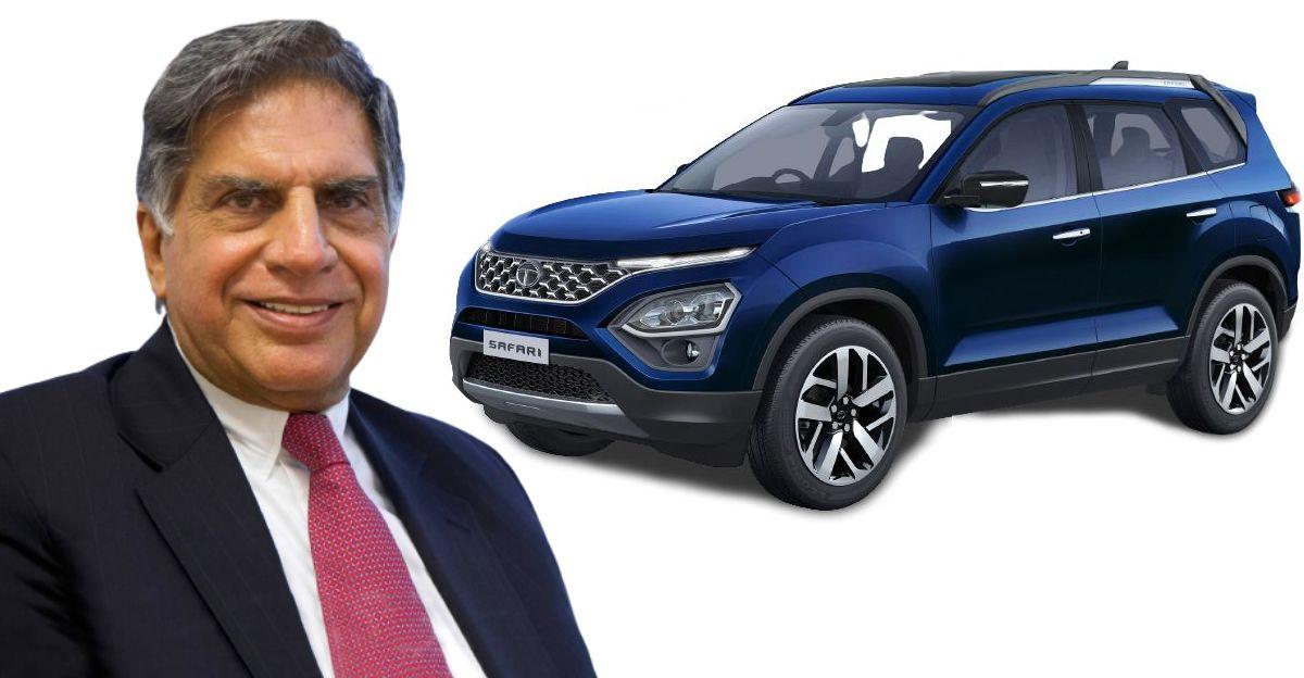 लॉन्च से पहले Tata Safari के बारे में और अधिक जानकारी सामने आई है