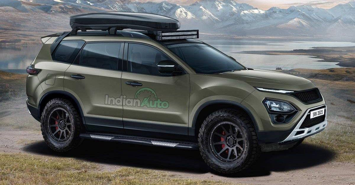आगामी Tata Safari को एक ऑफ-रोड एसयूवी के रूप में कल्पना की गई