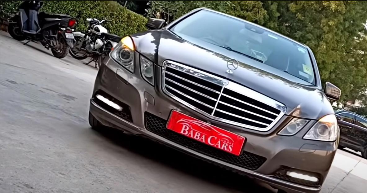 Used Mercedes-Benz E-Class सेडान बिक्री के लिए, कीमत 7.95 लाख रुपये है