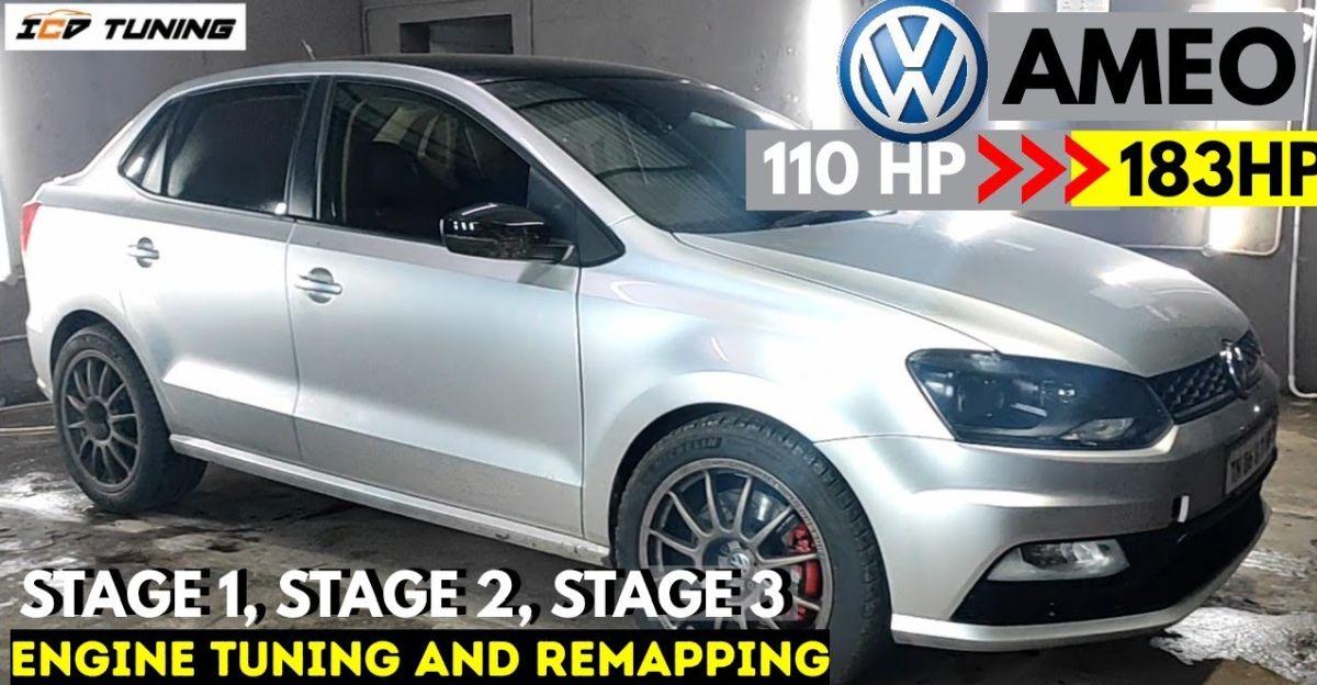 भारत का सबसे शक्तिशाली Volkswagen Ameo एक भारी 183 HP बनाता है