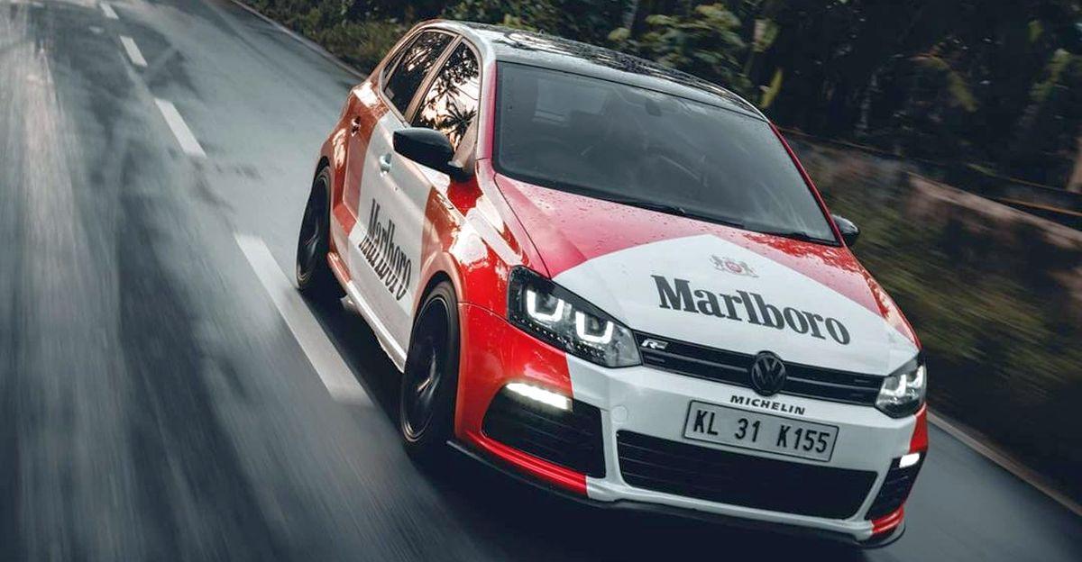 भारत की पहली Marlboro wrap किया हुआ कस्टम Volkswagen Polo GT