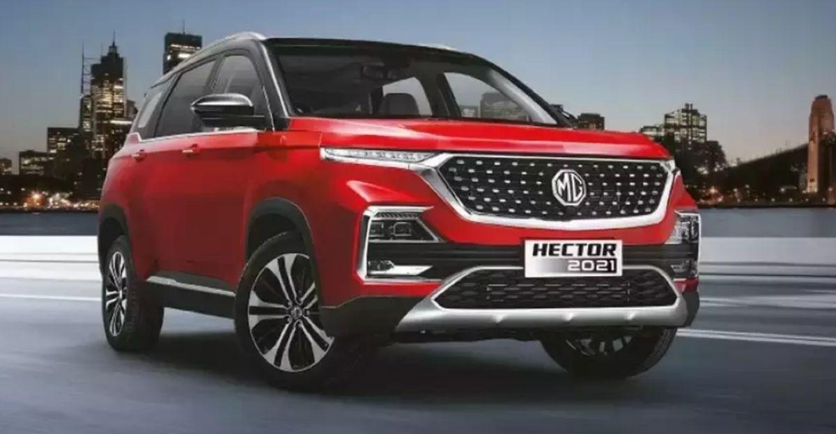 2021 MG Hector & Hector Plus CVT स्वचालित SUV 16.51 लाख और 17.21 लाख रुपये में लॉन्च