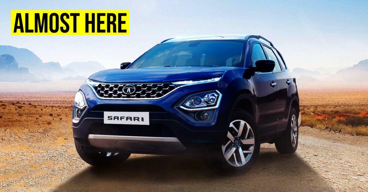 ऑल-न्यू Tata Safari SUV 's लॉन्च की तारीख आधिकारिक तौर पर सामने आई है