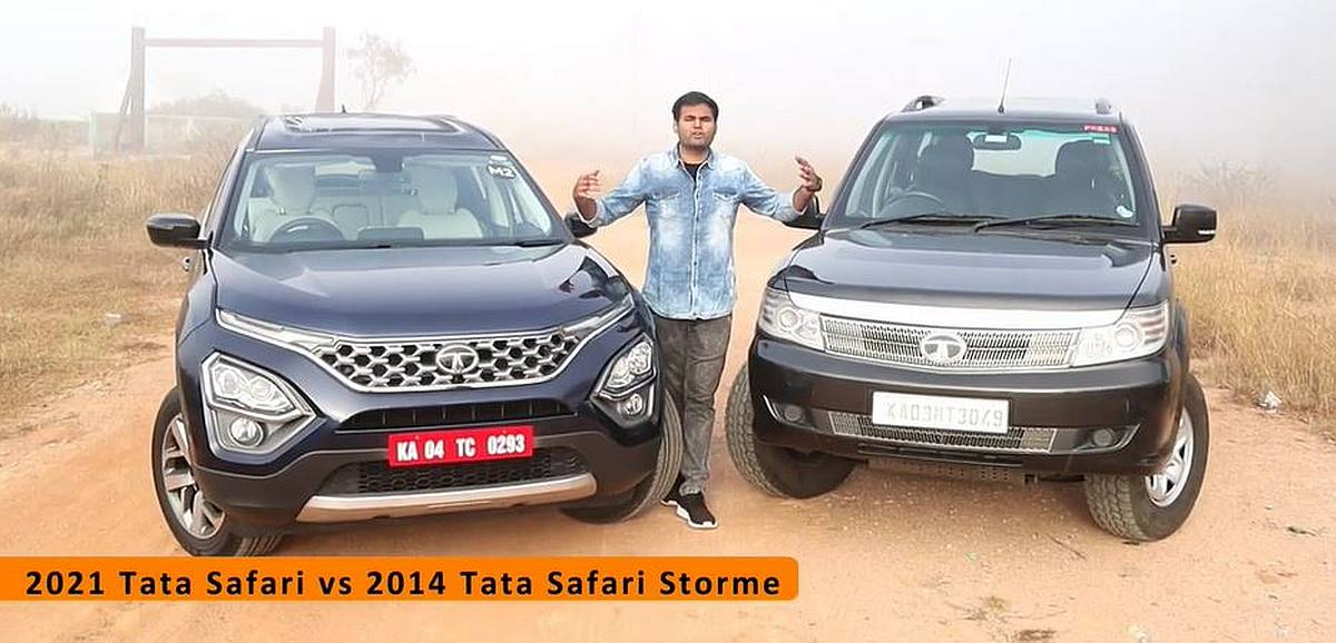 Safari Storme की तुलना में ऑल-न्यू Tata Safari