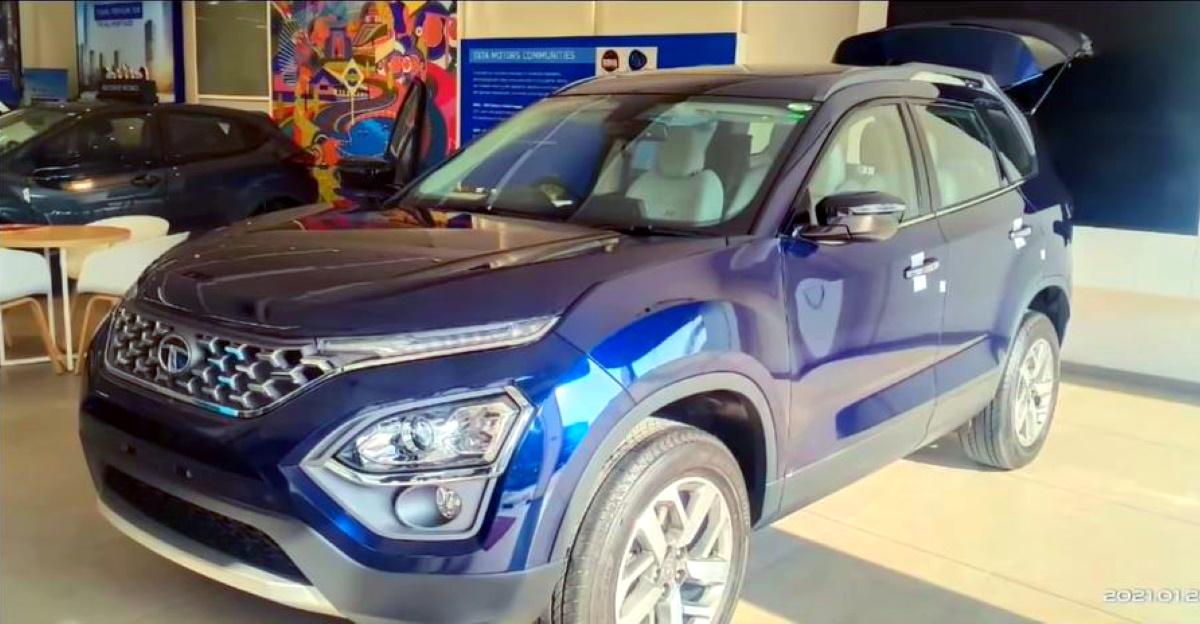 All-new Tata Safari एसयूवी डीलरशिप पर पहुंच गई, बुकिंग खुली