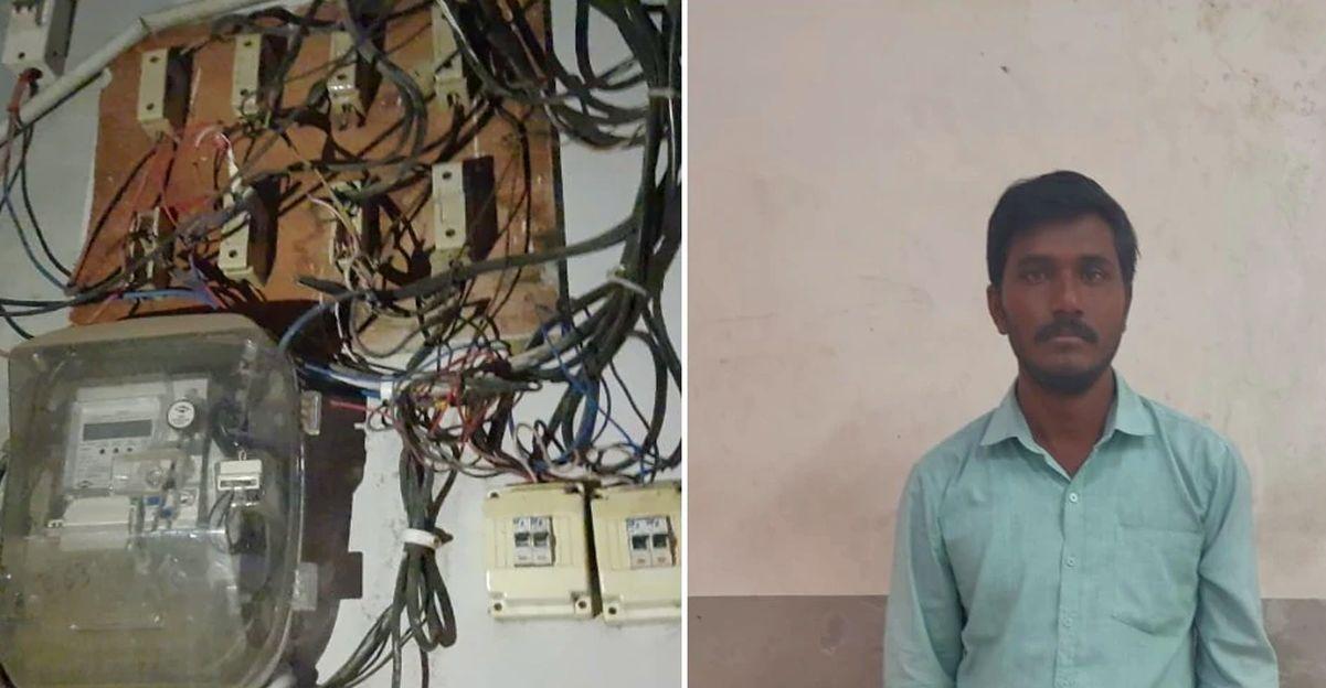गुस्साए आदमी ने चालान के बाद ट्रैफिक लाइट और पुलिस स्टेशन को बिजली काट दी, गिरफ्तार