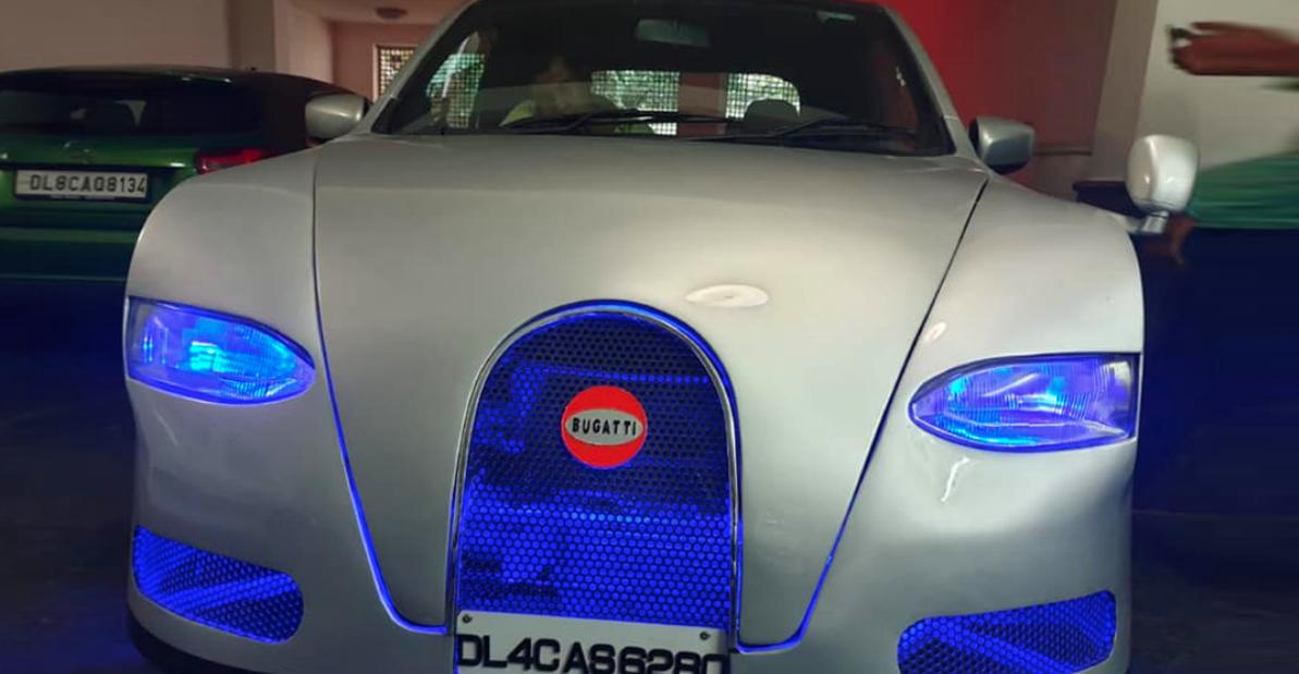 Maruti Celerio Bugatti Veyron की तरह दिखने के लिए संशोधित: बिक्री के लिए