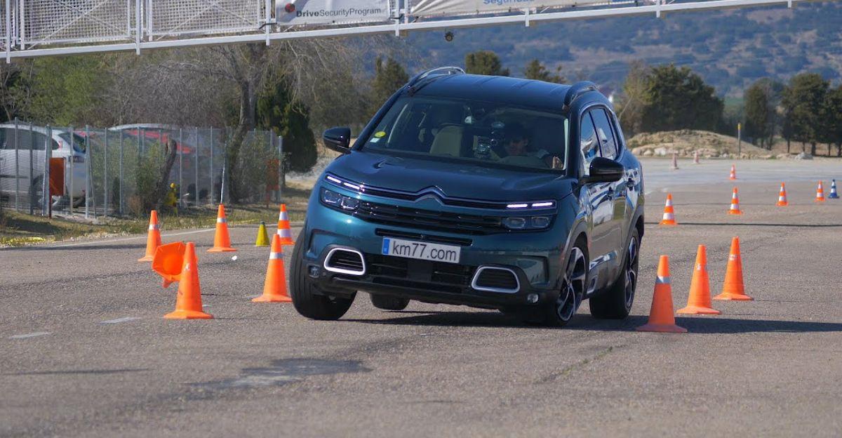 Citroen C5 Aircross SUV को एक Moose टेस्ट के माध्यम से पूरा किया गया