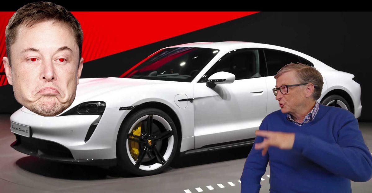 Elon Musk ने Bill Gates को Porsche Taycan खरीदने के लिए 'underwhelming' कहा