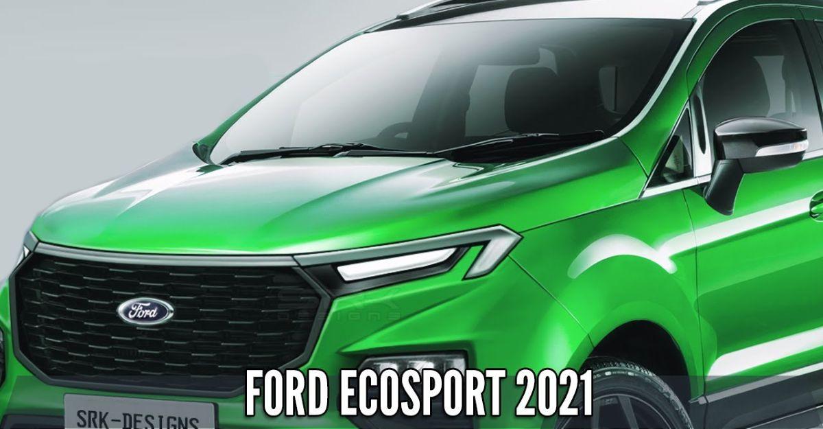2021 Ford Ecosport पिछले Spy शॉट्स पर आधारित है