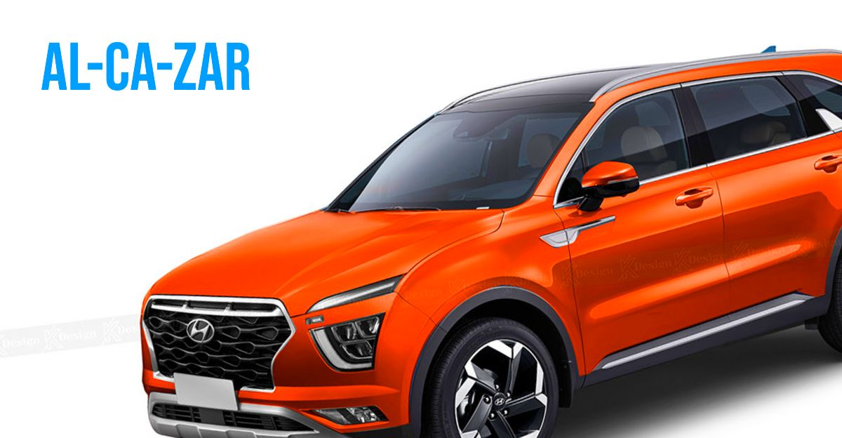 Hyundai Alcazar: आने वाली 7 सीट SUV कैसी दिखेगी