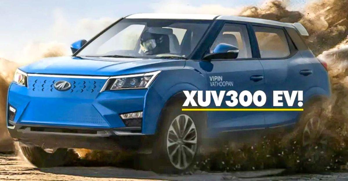 आगामी Mahindra XUV300 इलेक्ट्रिक एसयूवी: नई जानकारी सामने आई