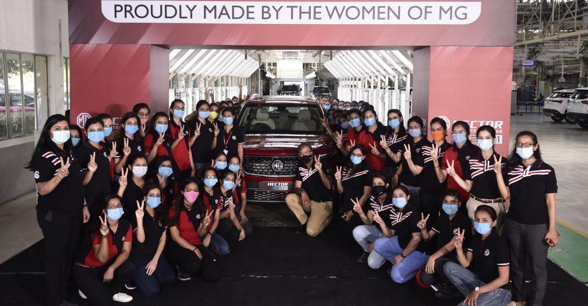 MG Hector भारत में 50,000 यूनिट उत्पादन का आंकड़ा पार करता है