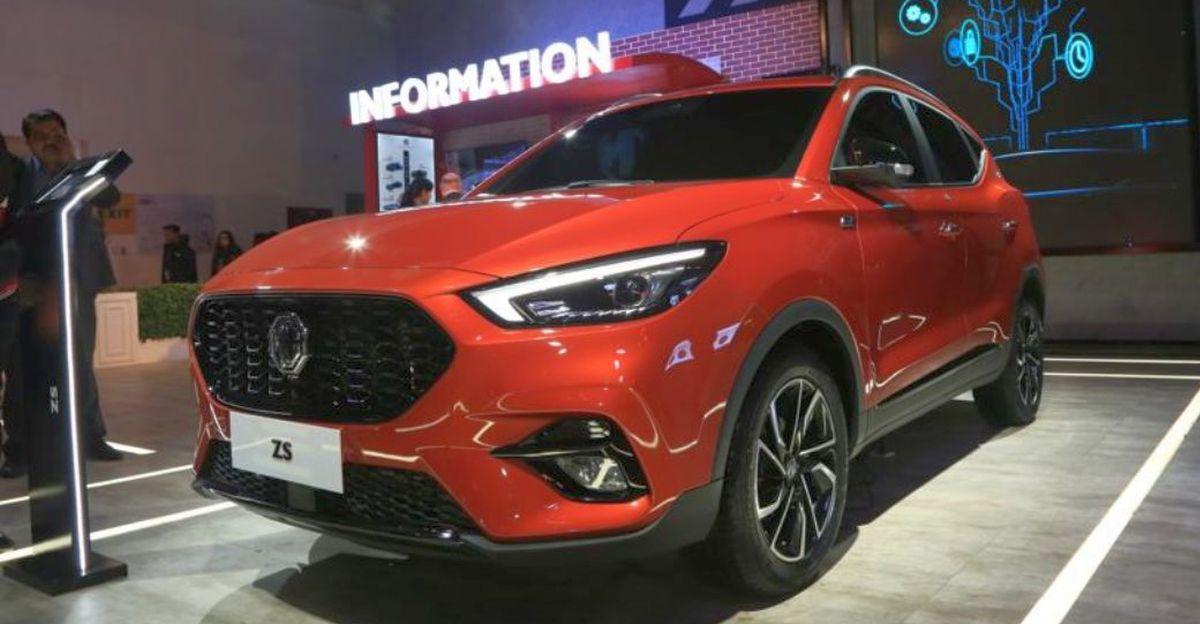 MG Astor: ZS पेट्रोल कॉम्पैक्ट SUV भारत के लिए एक नया नाम