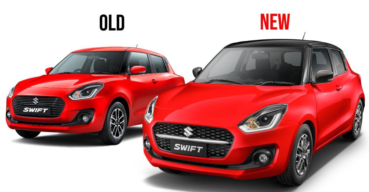 2021 Maruti Suzuki Swift फेसलिफ्ट: यह कैसे अलग है