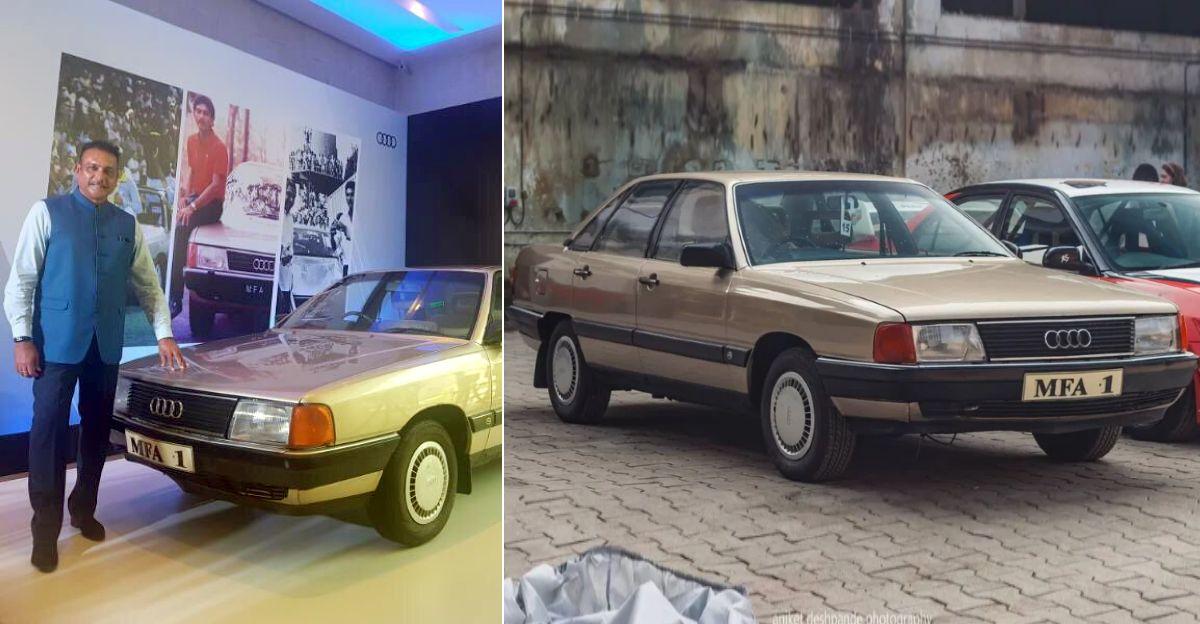 भारत की सबसे प्रसिद्ध Audi Ravi Shastri की है और यह 35 साल पुरानी है