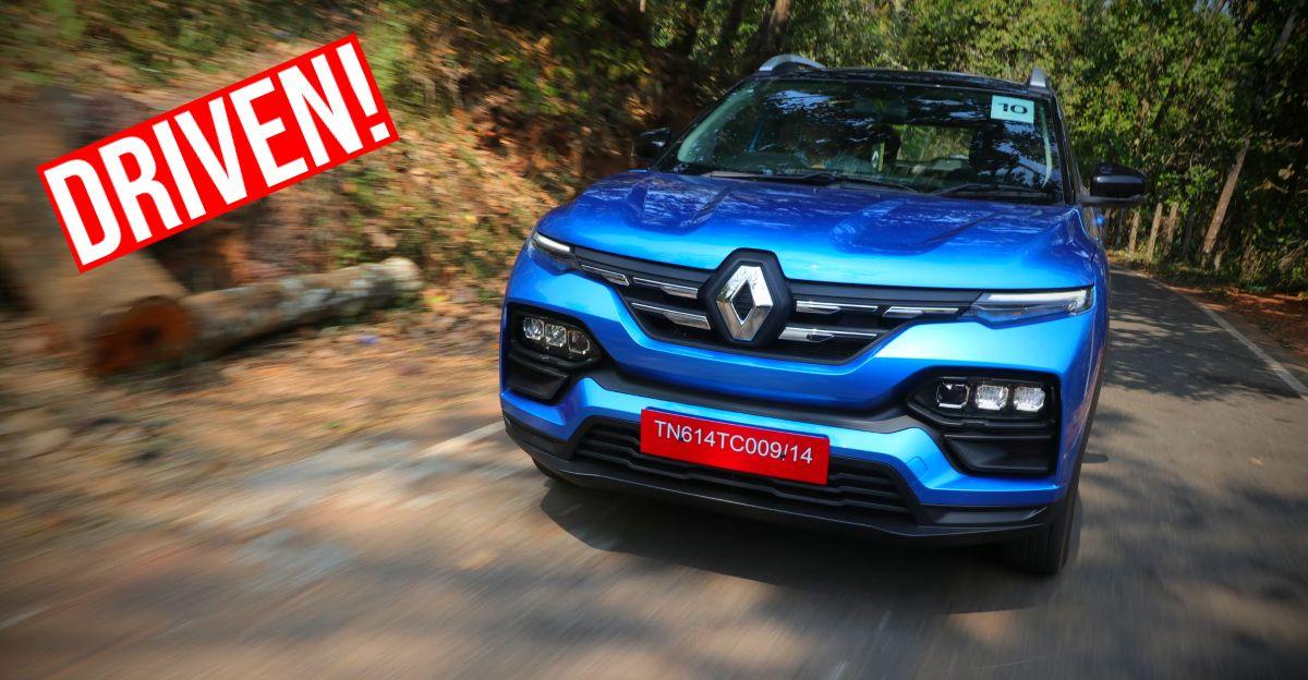 Renault Kiger 1.0 Turbo मैनुअल कॉम्पैक्ट SUV CarToq की पहली ड्राइव रिपोर्ट में