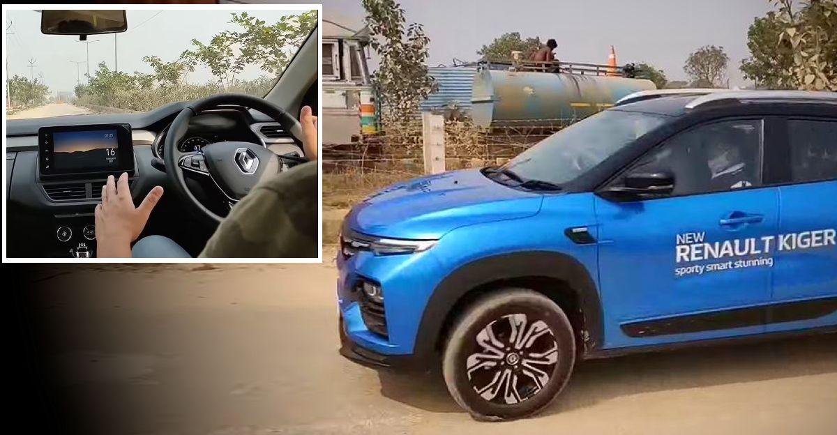 पहले ड्राइव रिव्यू वीडियो में Renault Kiger Turbo