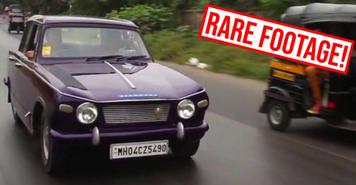70 के दशक की भारतीय कारें: एक्शन में Standard Herald देखें