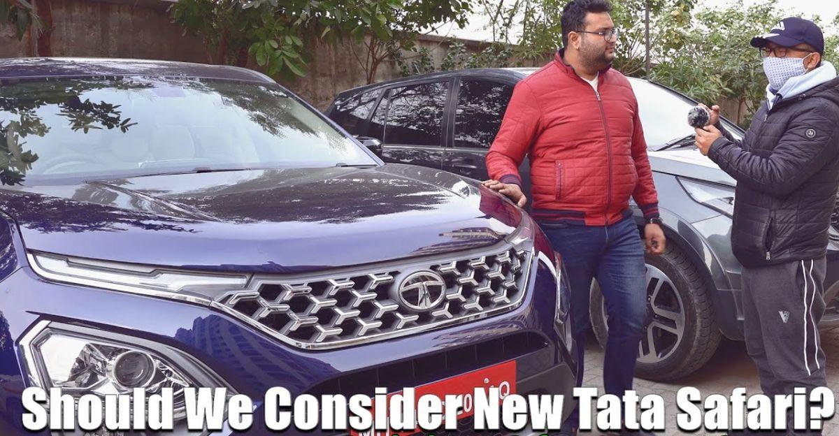 Tata Hexa के मालिक ऑल-न्यू Safari SUV के बारे में क्या सोचते हैं