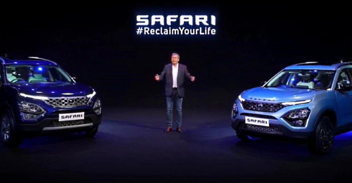 भारत में लॉन्च हुई All-New Tata Safari लग्जरी एसयूवी