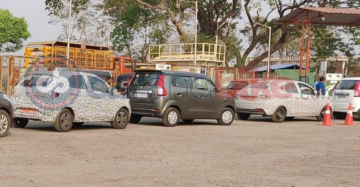 Tata Tiago & Tigor CNG वेरिएंट लॉन्च से पहले Spied