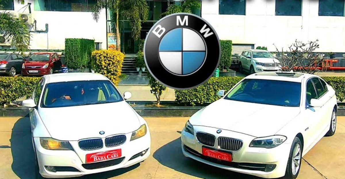 प्रीमियम हैचबैक की कीमत पर बिकने वाली Used BMW Luxury Sedans