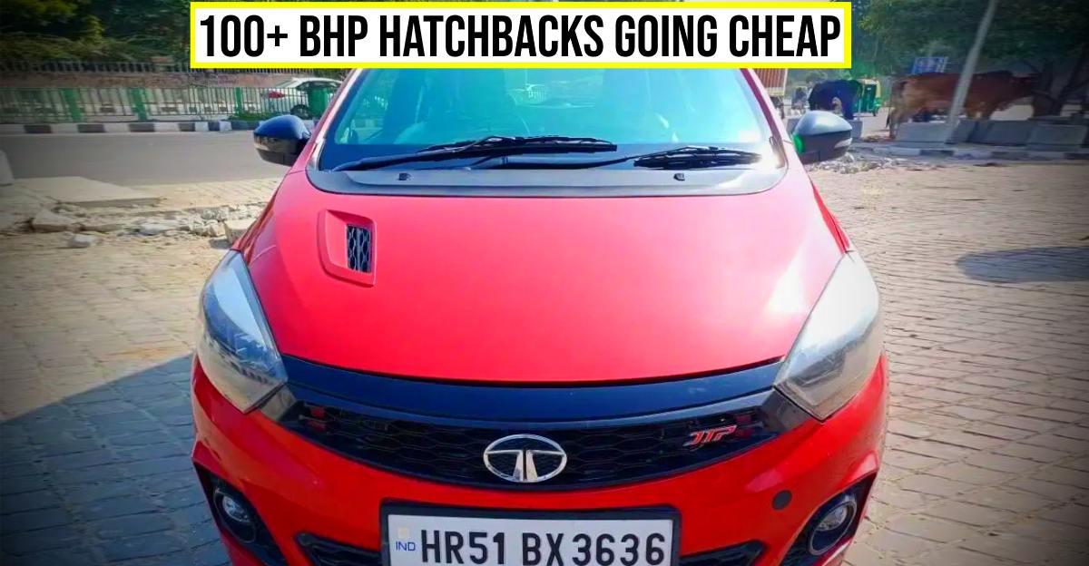 5 पावरफुल पूर्व-स्वामित्व वाली 'हॉट हैचबैक' 4 लाख रुपये से कम में शुरू हो रहा है