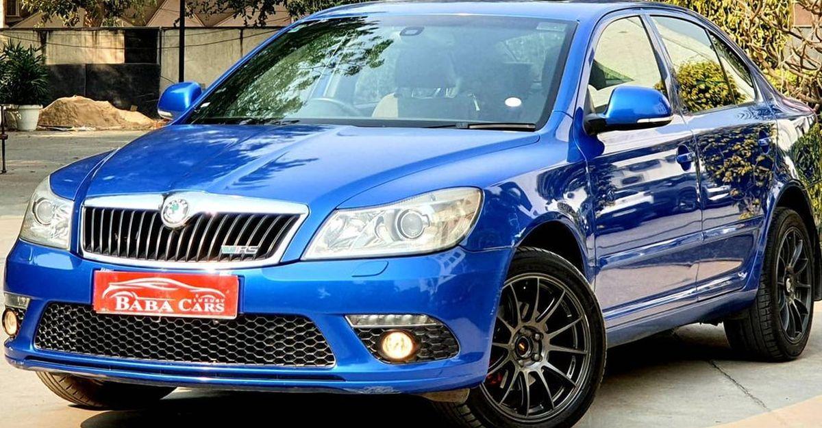 160 Bhp Skoda Laura VRS को मारुति स्विफ्ट से कम पर बेचा जा रहा है