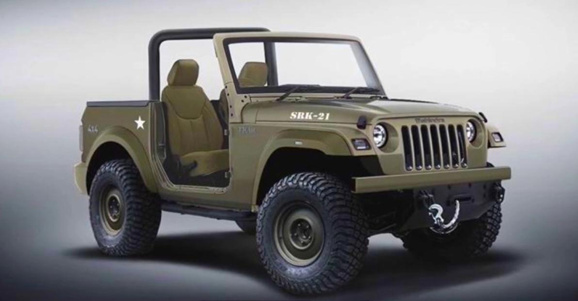 2020 Mahindra Thar Willys Jeep से प्रेरित है: यह कैसा दिखेगा