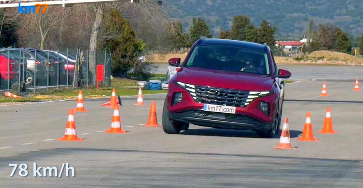 2021 Hyundai Tucson SUV 'Moose टेस्ट' के माध्यम से सामने रखा गया