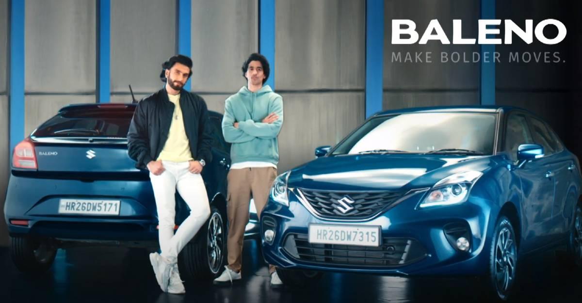 Bollywood अभिनेता Ranveer Singh के साथ Maruti Baleno का नया TVC