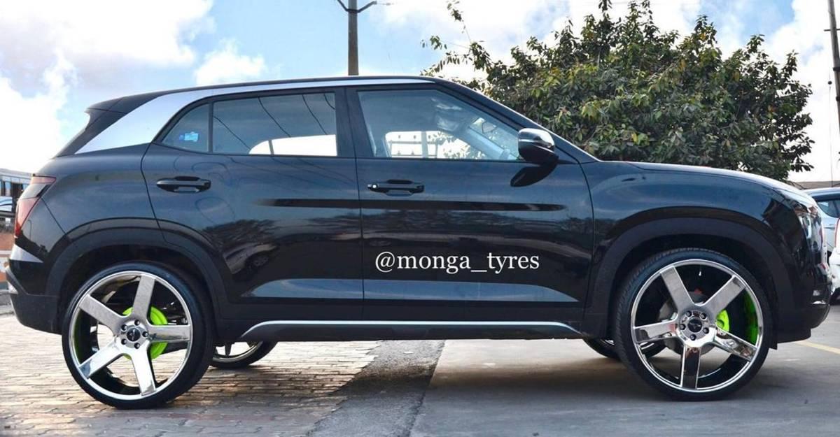 22 Inch Alloy Wheels के साथ भारत का पहला Hyundai Creta आँखों में बसने वाला है