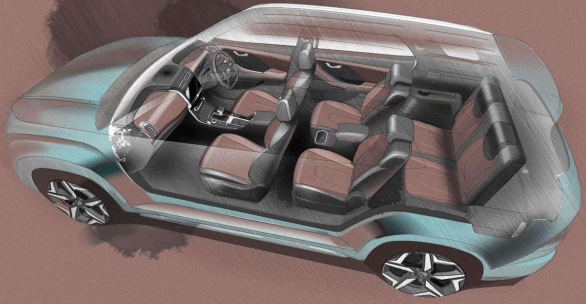 Hyundai Alcazar के टीज़र आधिकारिक तौर पर जारी: 7 सीट एसयूवी जल्द ही लॉन्च होगी