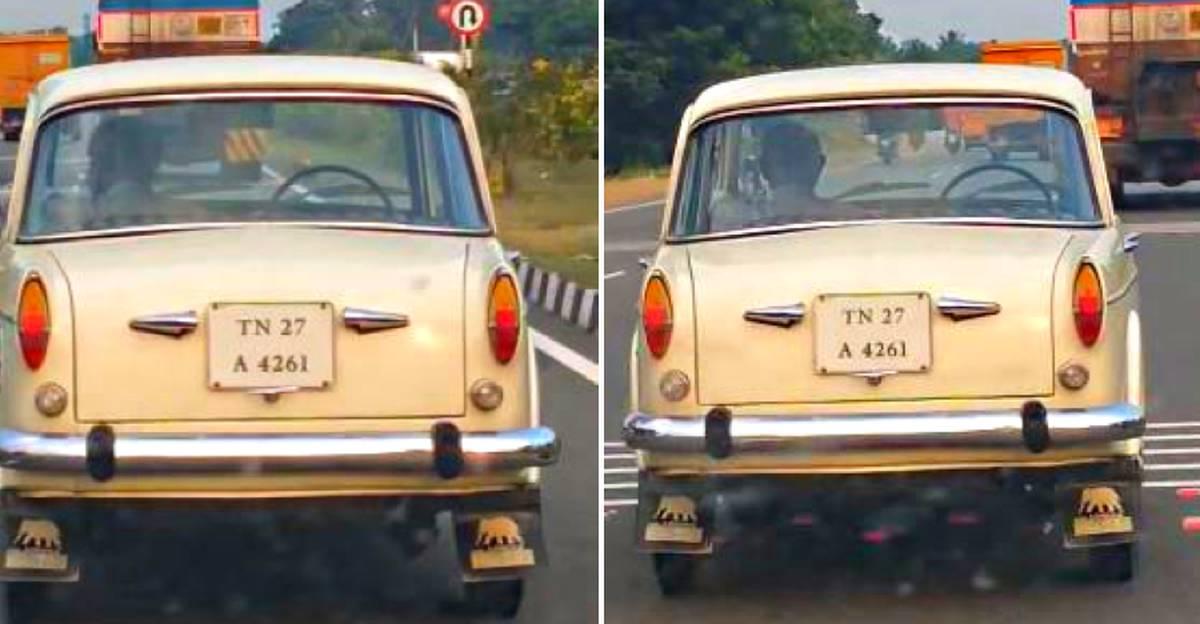 चालक रहित Premier Padmini को एक राजमार्ग पर देखा गया: यह कैसे किया जाता है?