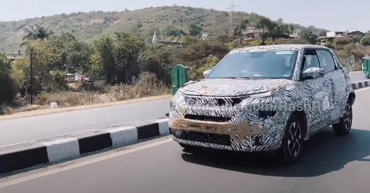 आधिकारिक लॉन्च से पहले आगामी Tata HBX की परीक्षण के दौरान कैमरे में कैद [Video]