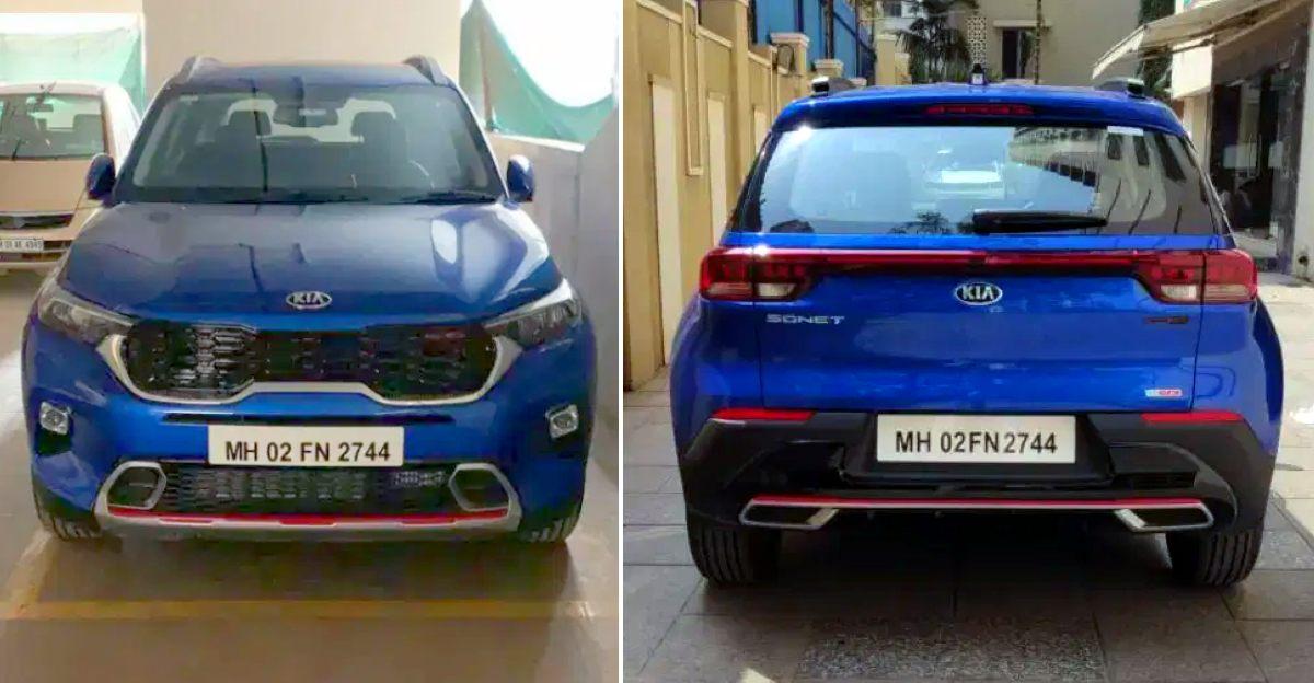 बिक्री के लिए 3 लगभग-नया Kia Sonet Compact-SUVs