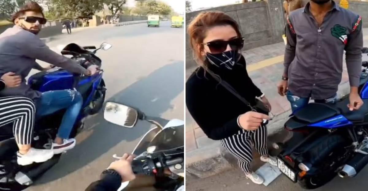 यामाहा R15 पर युगल ने Suzuki Hayabusa सवार को बुरी तरह कट मारा: प्रमुख तर्क